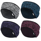 Ponytail Headband Winter Headband Ear Warmer Running Headband for Women Girls