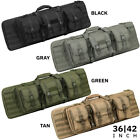 Kyпить Heavy Duty 600D Double Carbine Rifle Bag Soft Gun Case Hunting Storage Backpack на еВаy.соm
