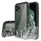 For iPhone 11 / 11 Pro Max Waterproof Case Cover With Build In Screen Protector