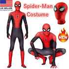 Spider-Man Far From Home Kids Boys Spiderman Zentai Child Cosplay Costume Suit