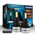 Nighteye H1/H3/H4/H7/H11/9005/9006 LED Headlight 72W 9000LM Bulbs 6500K White UK