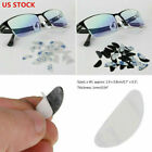 20pcs Anti-slip Silicone Nose Pads Grips Gasket Stick On For Eyeglasses Glasses