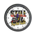 CafePress Tractor Pull Still Plays With Tractors Wall Clock (244510098)