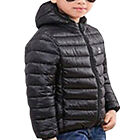 Kids Boys Girl Winter Warm Hooded Down Coat Padded Puffer Quilted Jacket Outwear