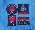 MSG Scorpions embroidered patch heavy metal ufo michael schenker