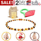 Kyпить Baltic Amber Necklace for Babies Baby Teeth Pain Reduce Beads Anti Flammatory на еВаy.соm