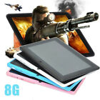 New 1pcs New 7-inch Kids Android 4.4 System Tablet Pc 8g Quad Core Wifi Camera