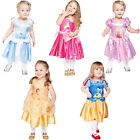 Baby Toddler Disney Princess Fairytale Classic Logo Fancy Dress Up Costume New