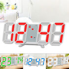 LED Digital Large Big Jumbo Snooze Wall Room Desk Calendar Alarm Clock Display
