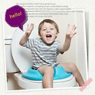 Kids Toilet Seat Ladder Baby Potty Training Step Trainer No Slip Safety US image