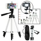 """46"""" Professional Camera Tripod Stand Holder Mount for  iPhone 11 Pro X 8 Samsung"""