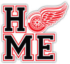 """Detroit Red Wings Home NHL Sport Car Bumper Sticker Decal """"SIZES"""" $4.25 USD on eBay"""