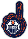 "Edmonton Oilers Puck Hand NHL Sport Car Bumper Sticker Decal  ""SIZES'' $4.25 USD on eBay"
