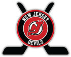 "New Jersey Devils Sticks Logo NHL Sport Car Bumper Sticker Decal ""SIZES'' $4.5 USD on eBay"