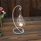 Candle Glass Holder Light Decor Wedding Home Clear Transparent Candlestick GIFT
