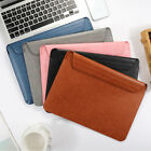 """For Macbook Air 13.3"""" A1932 2018 / 2019 Laptop Ultrathin Sleeve Leather Case Bag"""