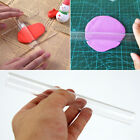 1pc Acrylic Sculpey Non-Stick Roller Pin Stamping Brayer Polymer Clay Tool 20cm image