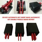cw key automatic key shortwave double paddle radio report transmitter morse code For Sale - 38