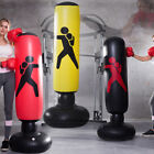 Kyпить Adult Punching Bag Training MMA Taekwondo Workout Boxing Bag Standing Swivel Gym на еВаy.соm
