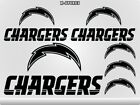 LOS ANGELES CHARGERS Stickers Decals Windows Computers Football Super Bowl 20J $4.99 USD on eBay