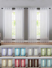 Kyпить 4 Pack Basic Home Sheer Voile Window Curtains - Assorted Sizes & Colors на еВаy.соm