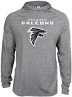 Zubaz NFL Football Men's Atlanta Falcons Tonal Gray Lightweight Hoodie $34.99 USD on eBay