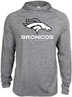 Zubaz NFL Football Men's Denver Broncos Tonal Gray Lightweight Hoodie $34.99 USD on eBay