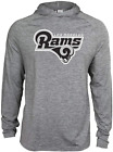 Zubaz NFL Football Men's Los Angeles Rams Tonal Gray Lightweight Hoodie $34.99 USD on eBay