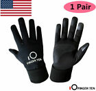 Kids Winter Gloves Waterproof Boys Girls Touch Screen Sport Windproof Glove Pair