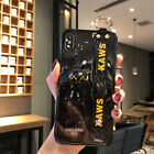 Cartoon KAWS Wristband Soft Phone Case Cover For iPhone 11 Max XR 6s 7 8 Huawei