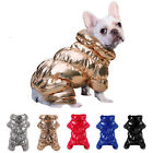 Winter Clothes for Small Dogs Waterproof Fleece Pet Coat Jacket Jumpsuit Yorkie