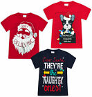 Girls Boys Christmas T shirts Kids Xmas Cotton Top Ages 7 8 9 10 11 12 13 Years