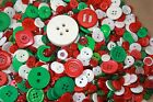 Kyпить Chritsmas Buttons-Red, Green,Snowman,Snowflakes, Christmas Trees, Gifts на еВаy.соm