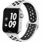 For Apple Watch Band Series 5 4 3 2 Sport Silicone iWatch Strap Band Wristband