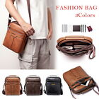Men's Multi-pocket Retro Messenger Bag Shoulder Bag Retro Handbag Travel Bag
