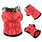 Small Pet Dog Cat Hoodie Down Jacket Puppy Winter Warm Coat Jumpsuit Clothes CA