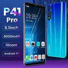 P41pro 6.1''inch Mobile Phone 8gb+128gb Smart Face Gsm Screen Unlock Android 9.1