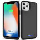 Thin 5500mAh Power bank External  Battery Case Cover Fit iPhone 11 Pro (5.8*)
