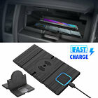 QI wireless Car phone charger fast charging pad mat for iPhone samsung universal