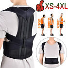 Back Posture Corrector Support Shoulder Therapy Brace Pain Relief for Men Women $10.96 USD on eBay