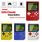 Mini Retro Handheld Game Console System Built-in 400 / 500 in 1 Games Player