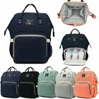 Multi-Function Baby Diaper Nappy Mummy Bag Changing Backpack Travel Bag Nappy