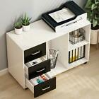 Tribesigns Large Modern Lateral Mobile Filing Cabinets3 Drawer,for Home Office