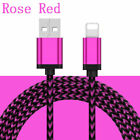 Braided USB Charger Cable for iPhone 6 7 8 Plus Lightning XR XS MAX 3FT 6FT 10FT