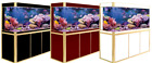 175 Gallon Fish Tank Ultra Clear Glass Aquarium w/ LED Light Stand Pump Bundle