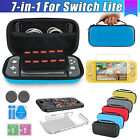 Kyпить For Nintendo Switch Lite Carrying Case Bag+Shell Cover+Tempered Glass Protector на еВаy.соm