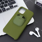 1PC 2-in-1 Durable Phone Cover Earbud Case Compatible for Air Pods iPhone 11 Pro