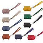 1 pc Protective Solid Color PU Leather Earphone Cover Compatible for AirPods Pro