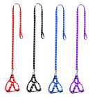 Step-in Puppy Small Dog Pet Harness and Matching Leash Nylon Adjustable 4 Colors