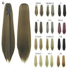 Fashion Horsetail Wig New False Masson Colorful Long Straight Wig 02